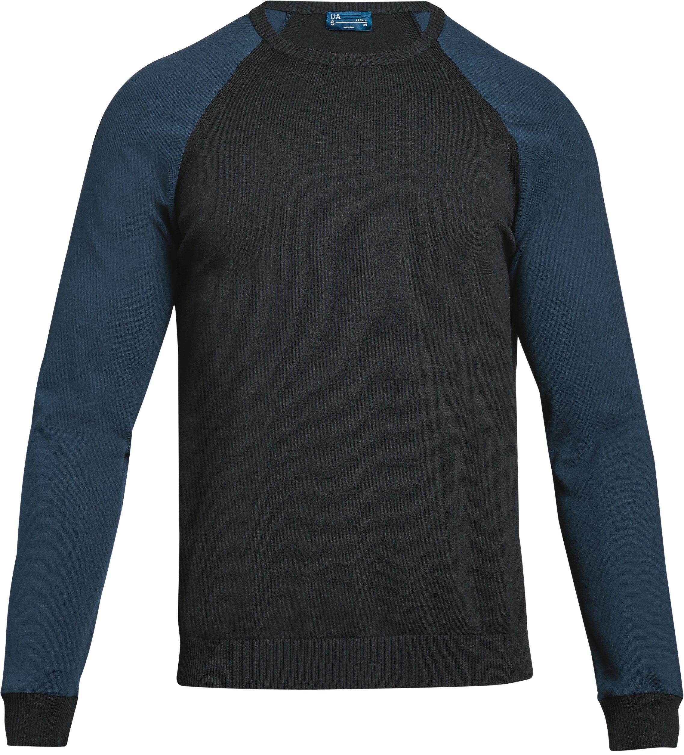 Men's UAS Sweater Crew, Black ,