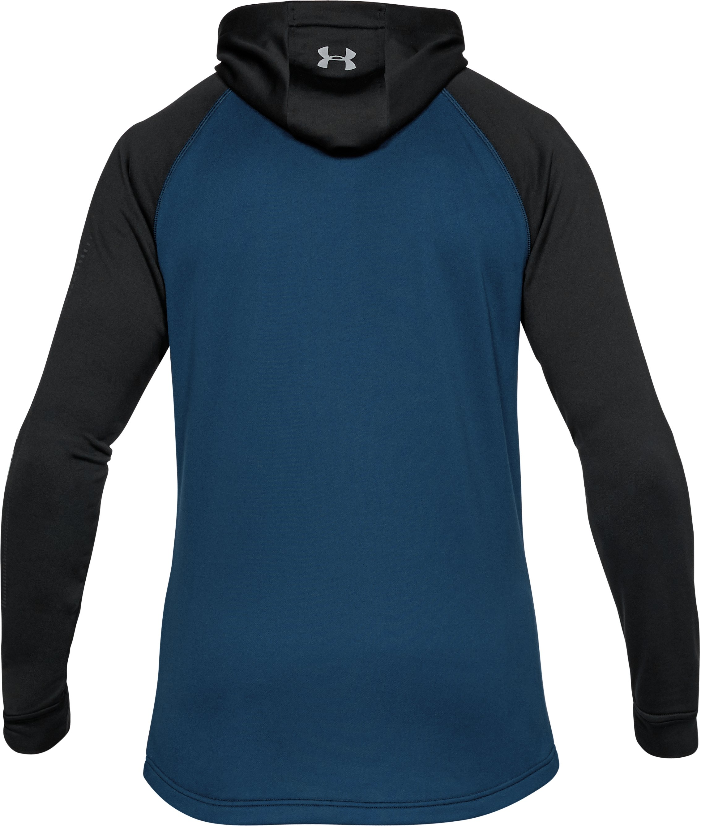 Men's UA Tech Terry Hoodie, BLACKOUT NAVY, undefined