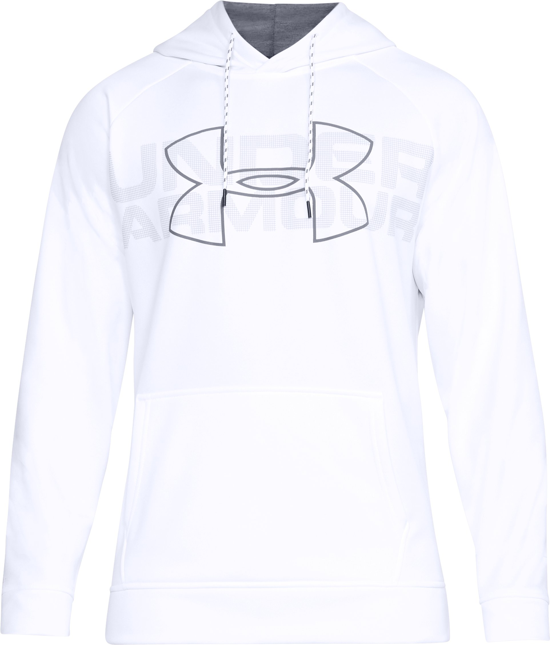 Men's UA Storm Armour Fleece® Graphic Hoodie, White,