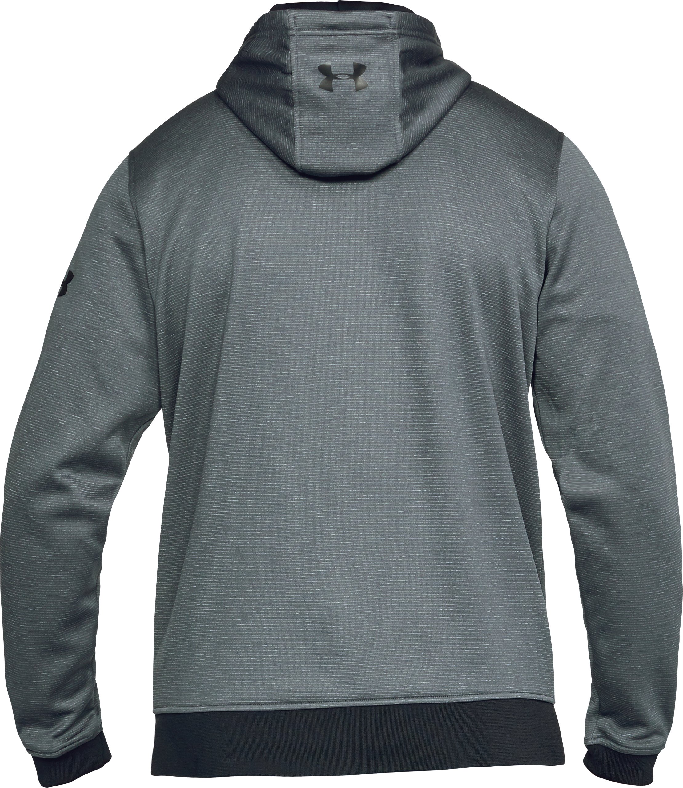 Men's UA Storm Armour Fleece® ¼ Zip Hoodie, RHINO GRAY,