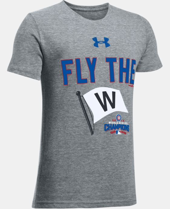 New Arrival Youth Chicago Cubs Fly The W Tri-blend T-Shirt  1 Color $24.99