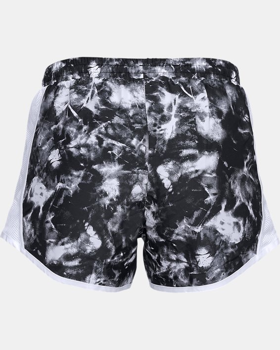 Women's UA Fly-By Team Printed Shorts, Black, pdpMainDesktop image number 5