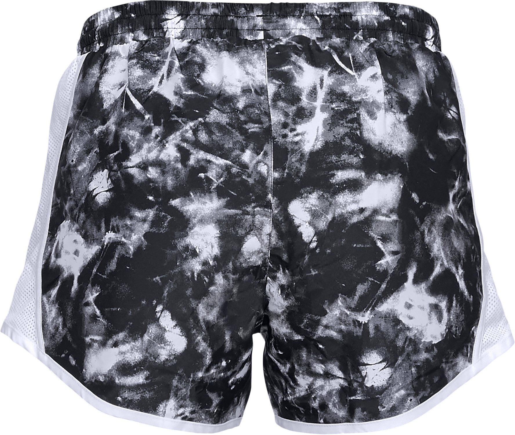 Women's UA Fly-By Team Printed Shorts, Black ,
