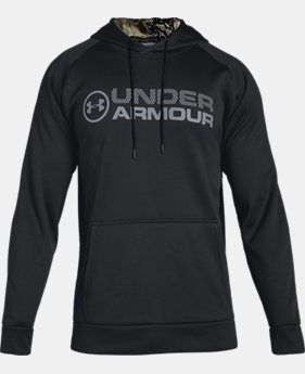 Men's UA Storm Armour Fleece® Stacked Hoodie LIMITED TIME ONLY 6  Colors Available $41.24