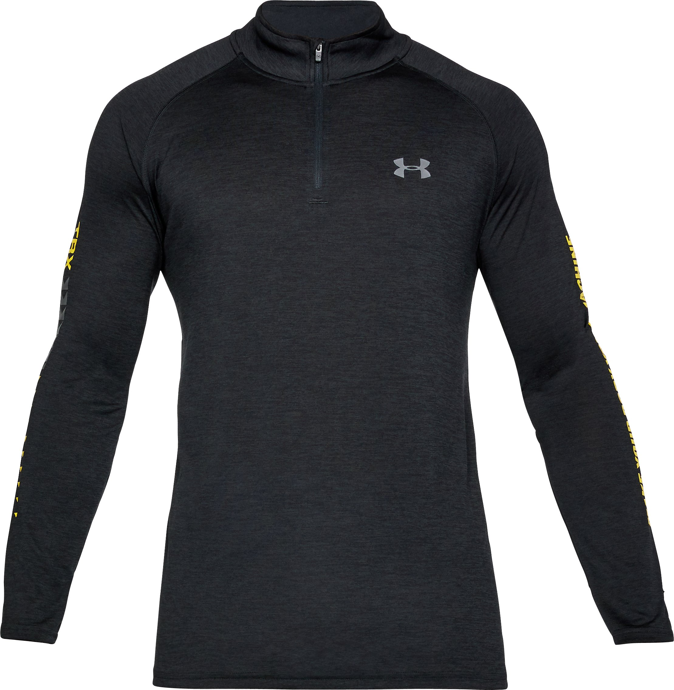 Men's UA x TRX ¼ Zip, Black ,