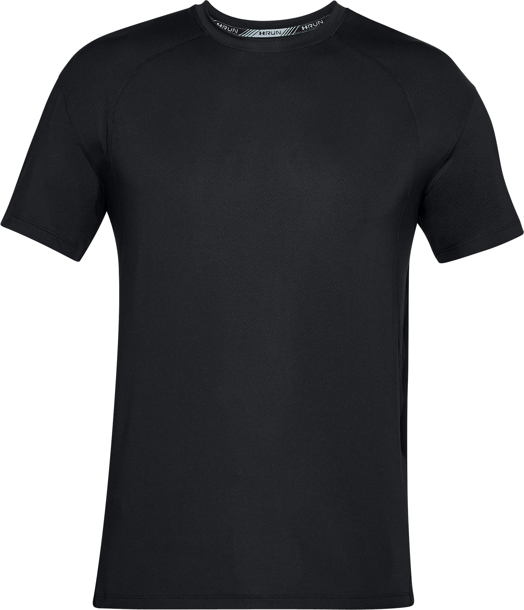 Men's UA CoolSwitch Short Sleeve, Black , undefined