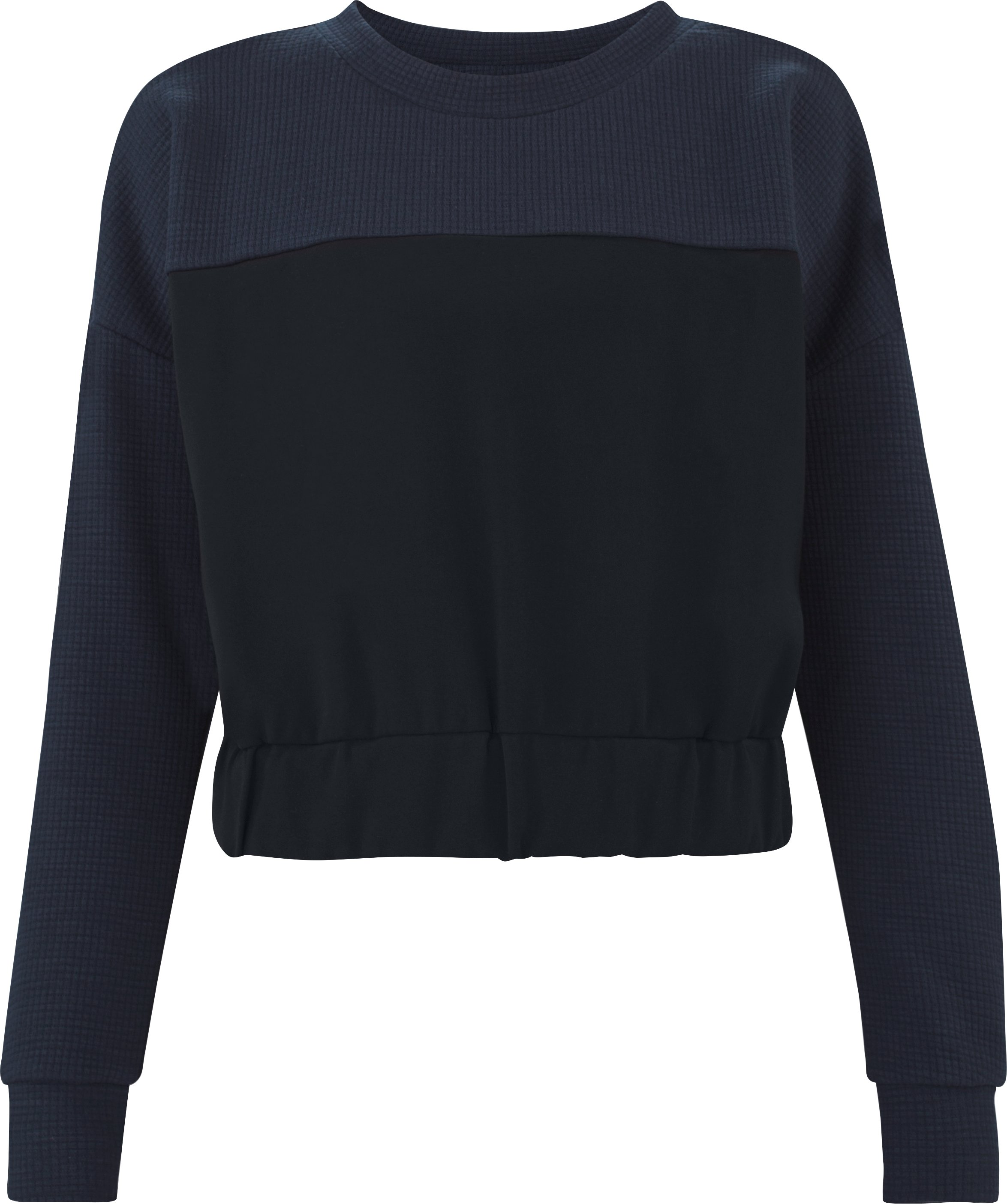 Women's UAS Motion Shrunken Crew, Navy,
