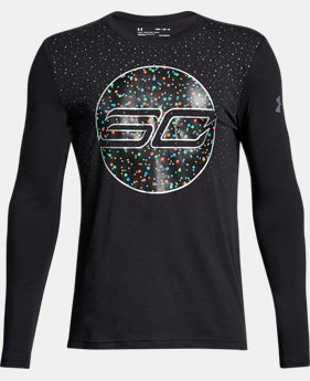 Boys' SC30 Holiday Lights Long Sleeve T-Shirt  1 Color $34.99