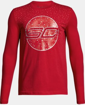 Boys' SC30 Holiday Lights Long Sleeve T-Shirt  1 Color $29.99