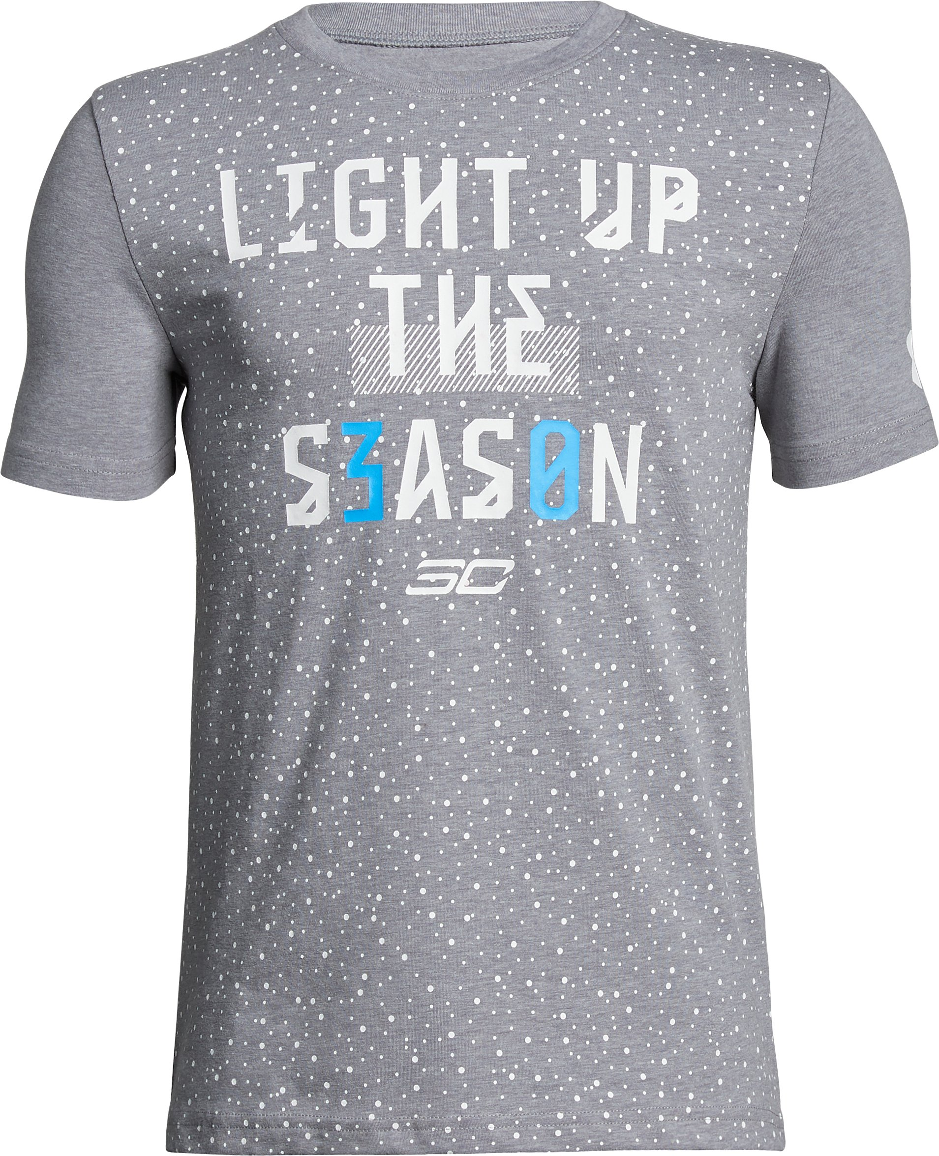 Boys' SC30 Light Season T-Shirt, STEEL LIGHT HEATHER, undefined