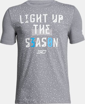 Boys' SC30 Light Season T-Shirt  1 Color $24.99