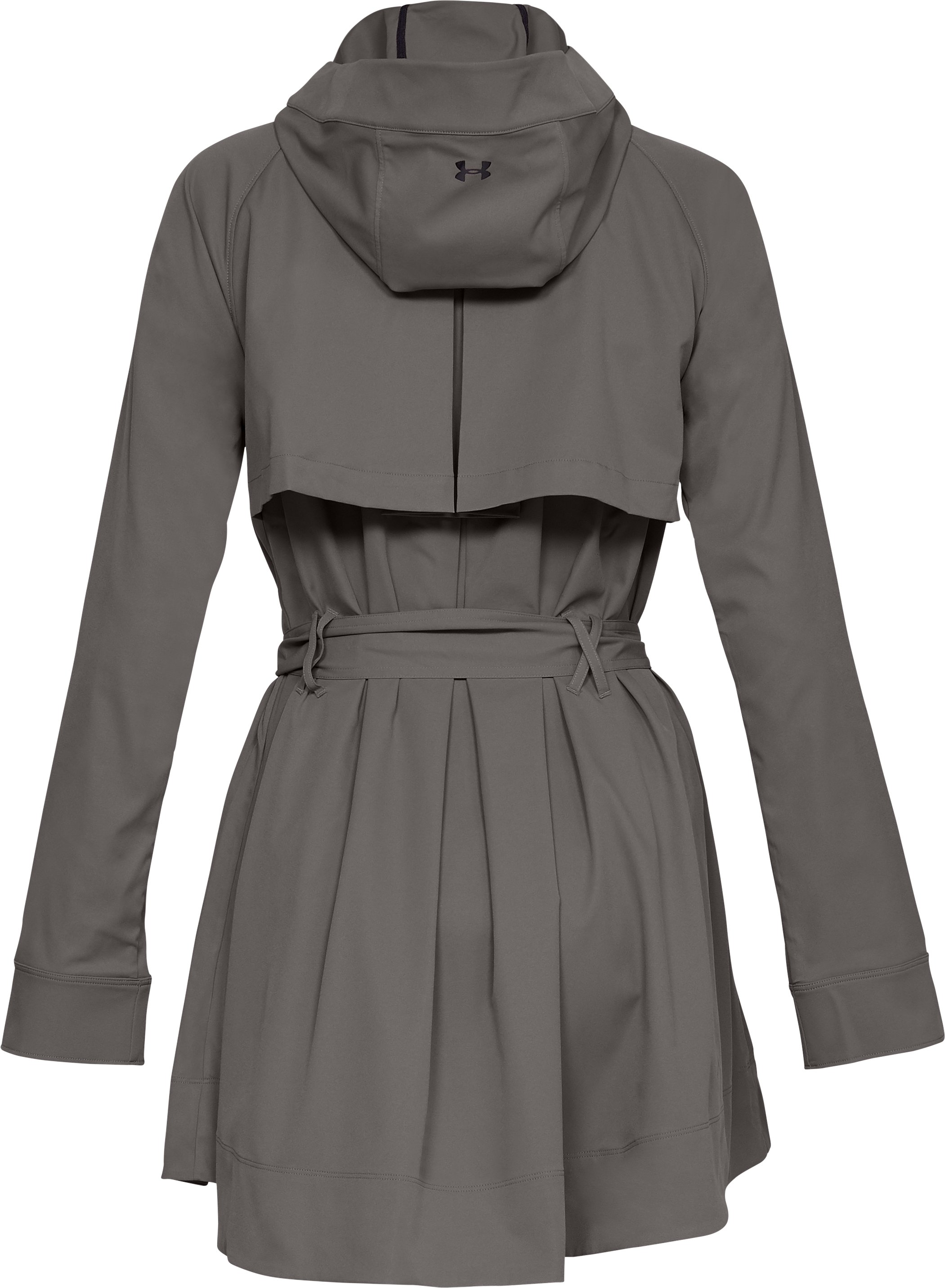 Women's Misty Copeland Signature Woven Trench, MINK GRAY,