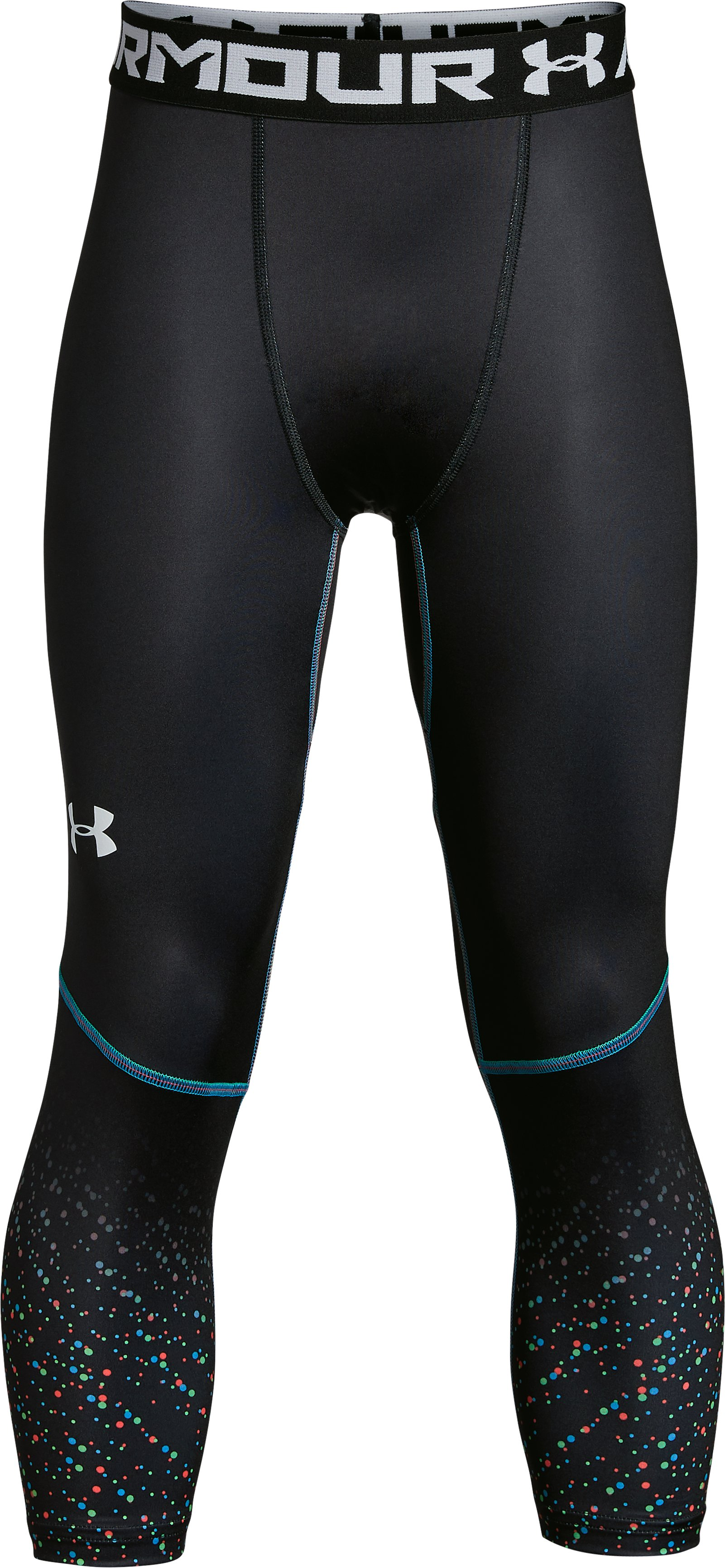 Boys' SC30 Lights ¾ Leggings, Black