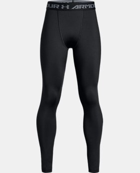 New Arrival Boys' ColdGear® Armour Leggings  1 Color $39.99