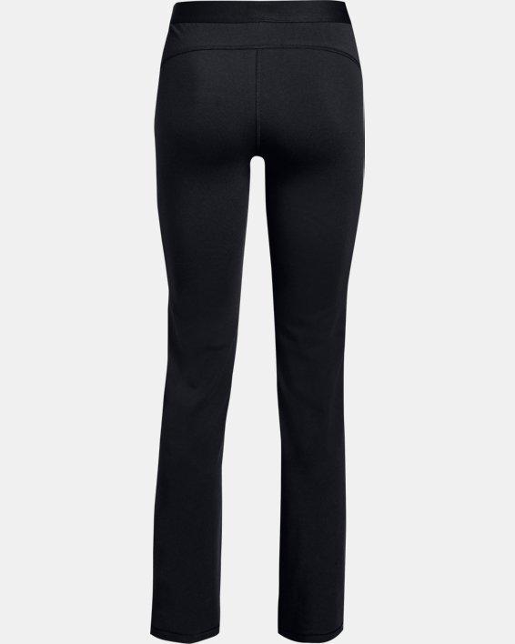 Women's UA Favorite Straight Leg Pants, Black, pdpMainDesktop image number 4