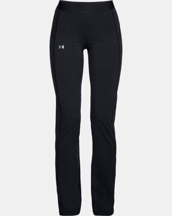Women's UA Favorite Straight Leg Pants, Black, pdpMainDesktop image number 3