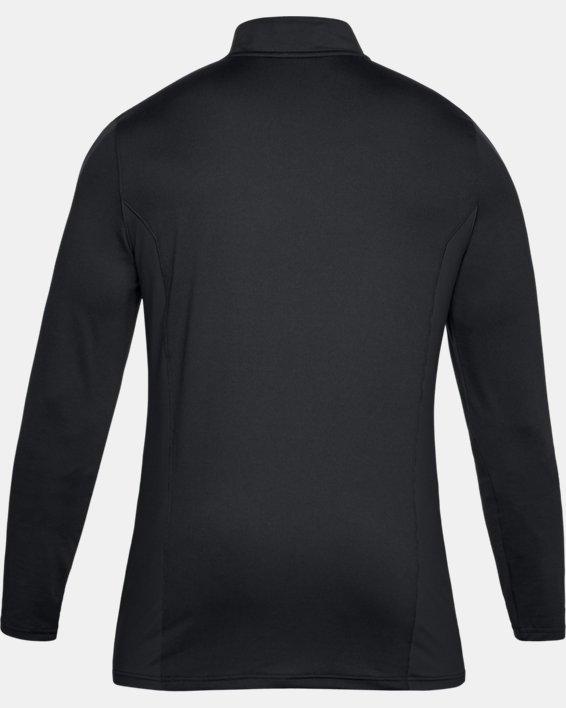 Men's UA Challenger II Midlayer Shirt, Black, pdpMainDesktop image number 4