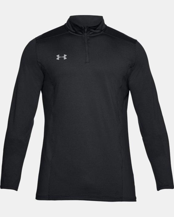 Men's UA Challenger II Midlayer Shirt, Black, pdpMainDesktop image number 3