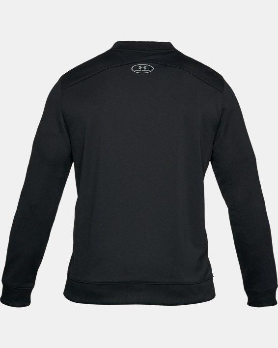 Men's UA Challenger II Track Jacket, Black, pdpMainDesktop image number 4