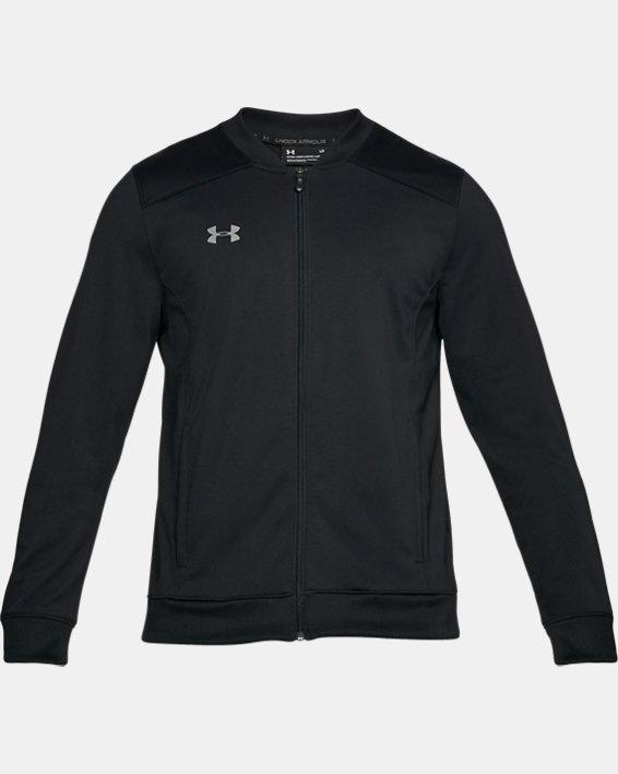 Men's UA Challenger II Track Jacket, Black, pdpMainDesktop image number 3
