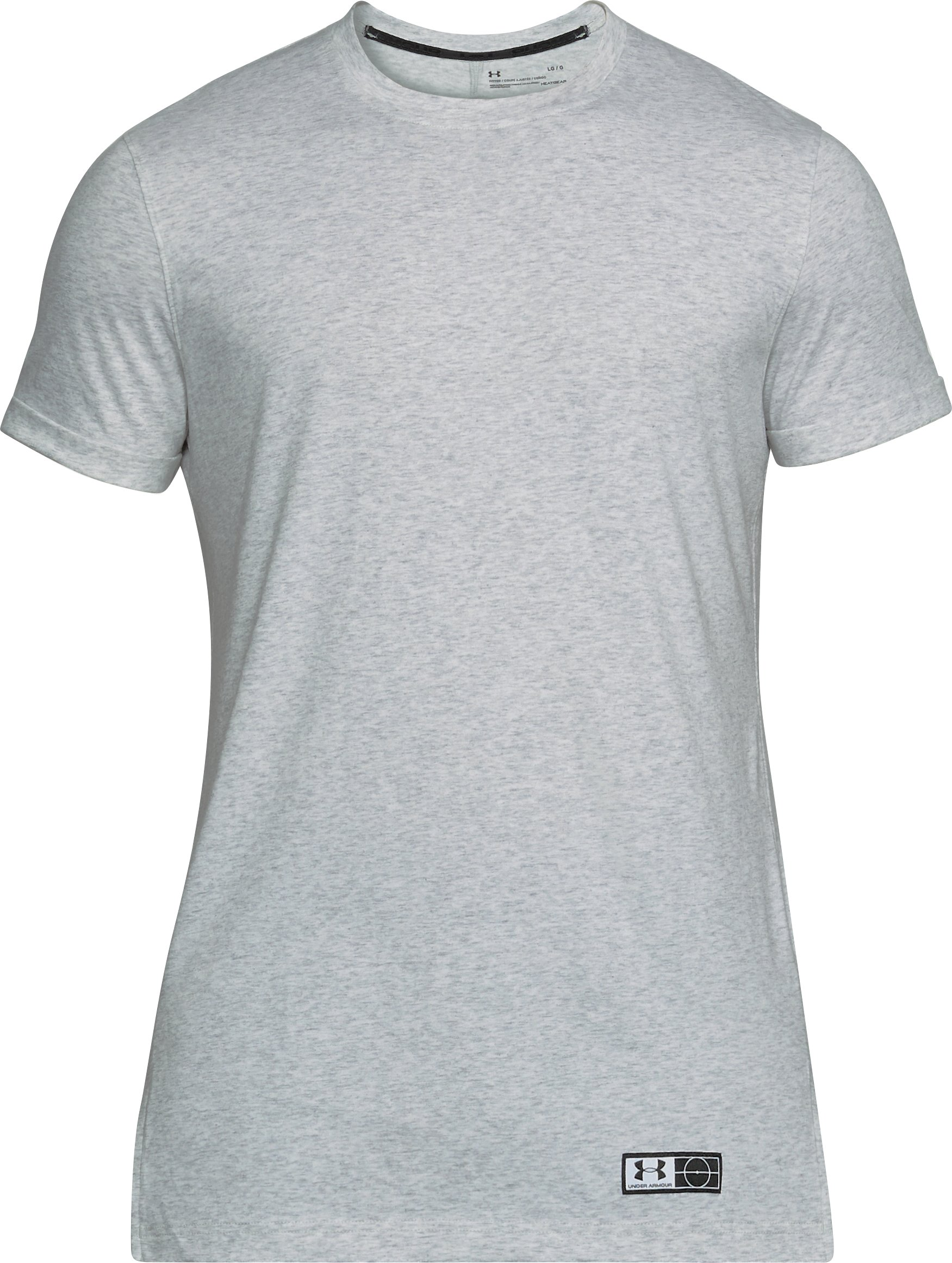Men's UA Accelerate Off-Pitch T-Shirt, ELEMENTAL MEDIUM HEATHER, undefined