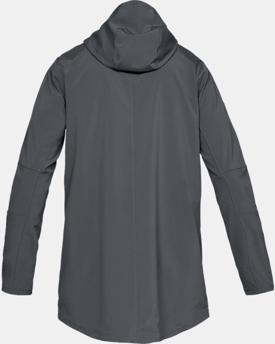 Men's UA Accelerate Terrace Jacket, Gray, pdpMainDesktop image number 5