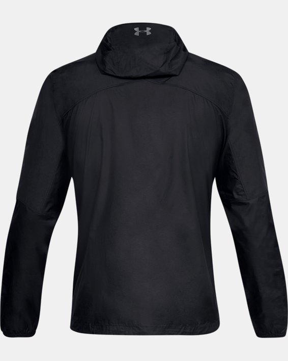 Men's UA Scrambler Hybrid Jacket, Black, pdpMainDesktop image number 4