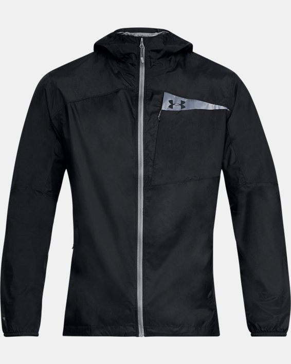 Men's UA Scrambler Hybrid Jacket, Black, pdpMainDesktop image number 3