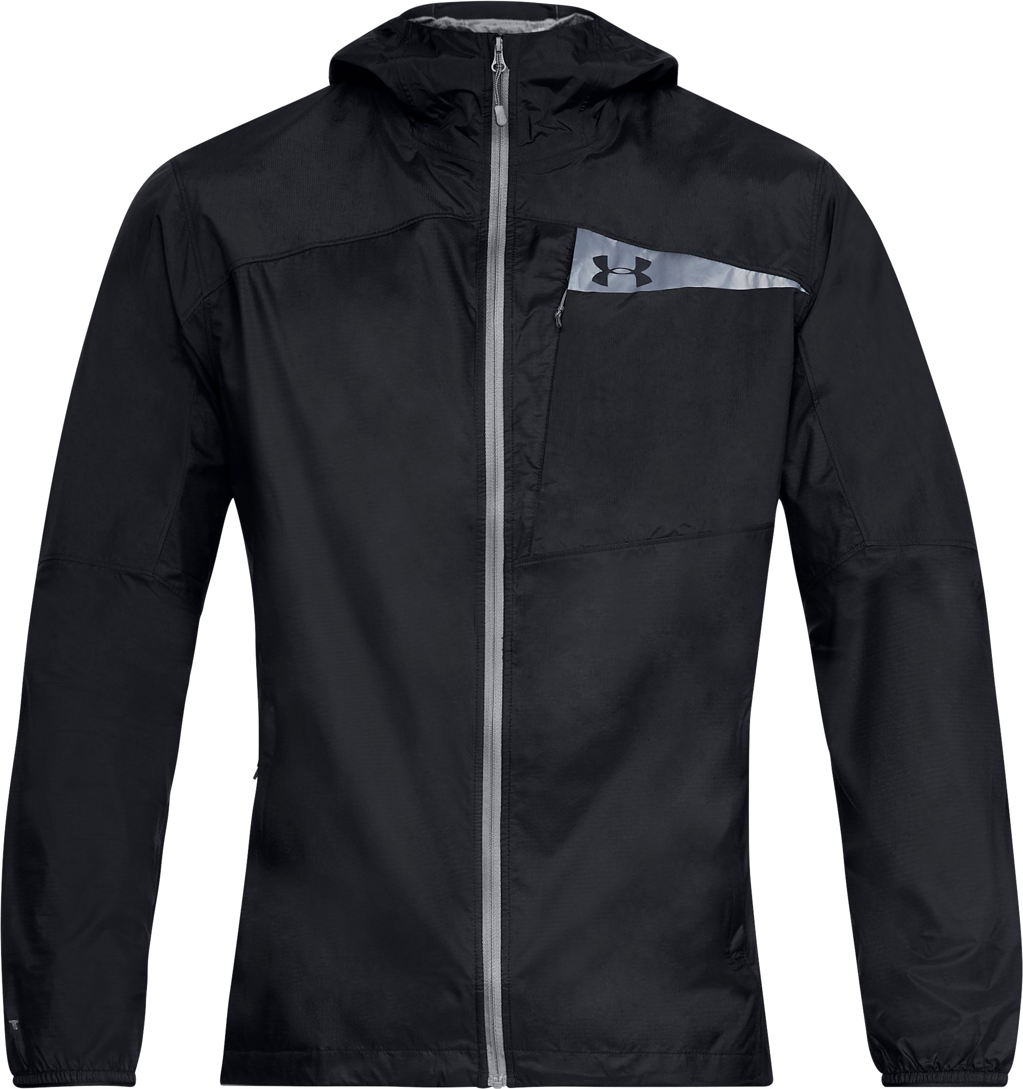 Men's UA Scrambler Hybrid Jacket, Black ,