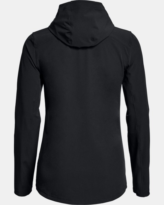 Women's UA Challenger II Storm Shell Jacket, Black, pdpMainDesktop image number 4