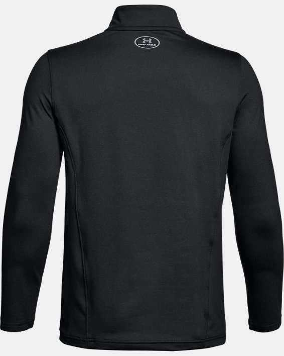Youth UA Challenger II Midlayer Shirt, Black, pdpMainDesktop image number 1