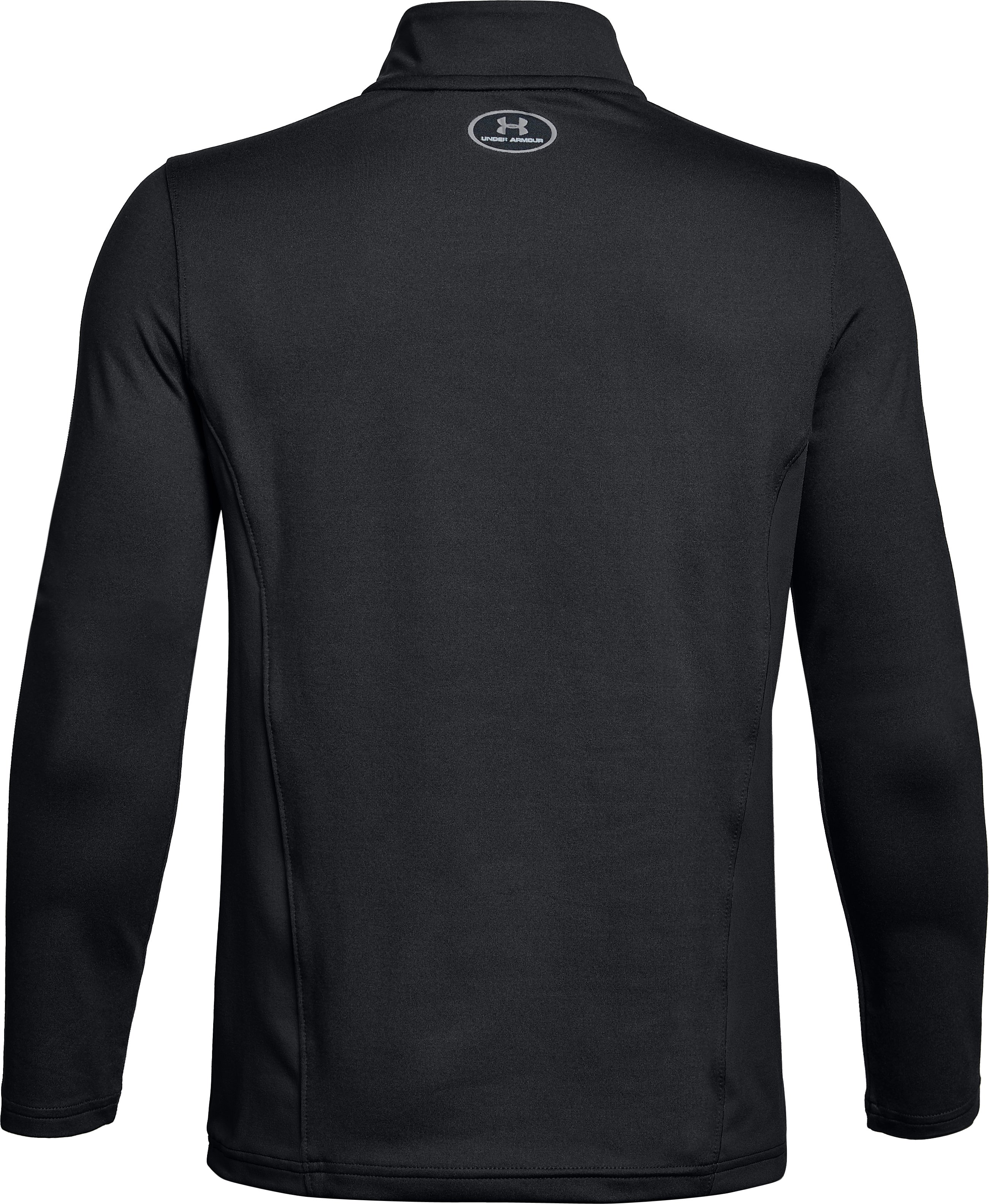 Youth UA Challenger II Midlayer Shirt, Black ,