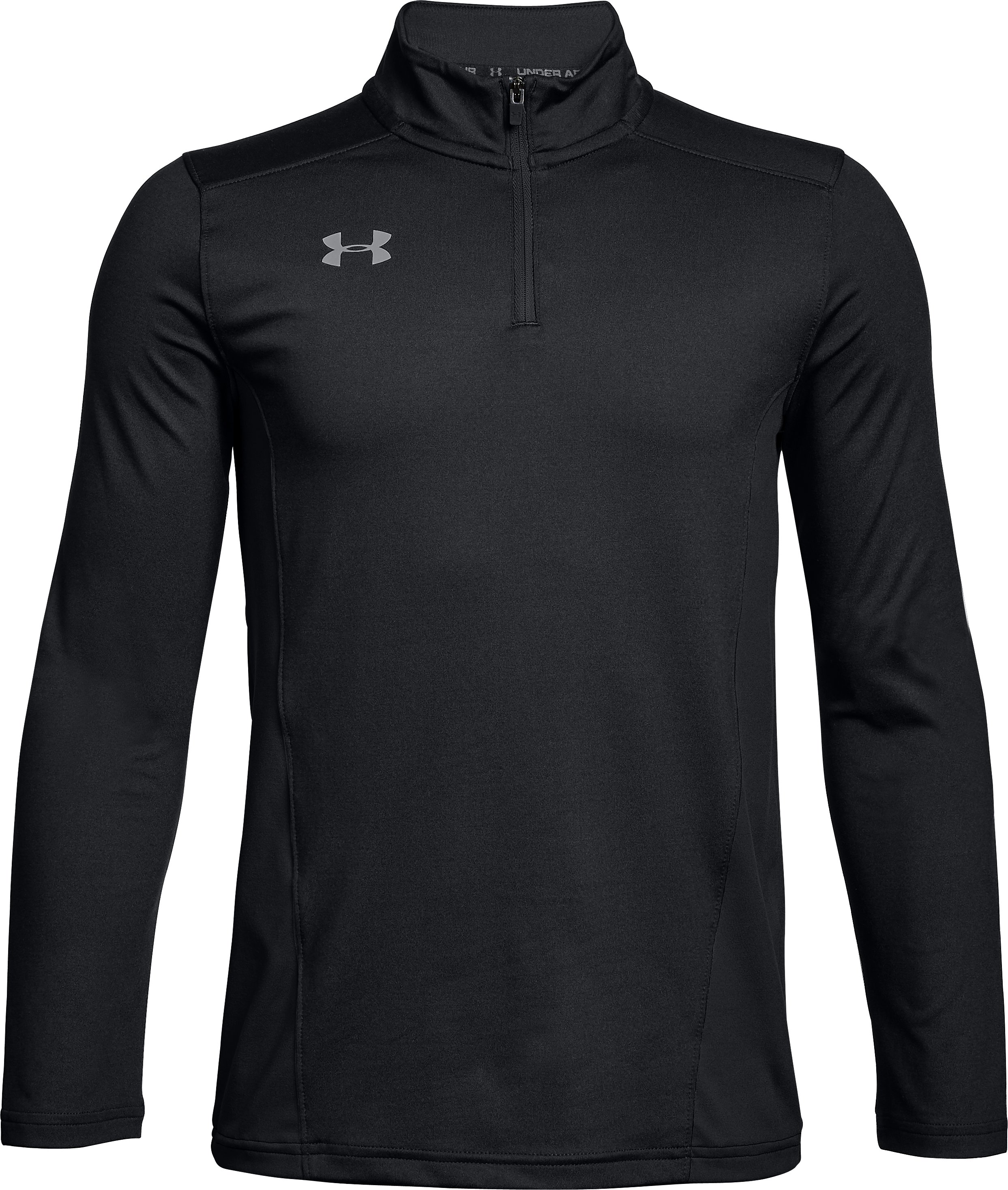 Youth UA Challenger II Midlayer Shirt, Black