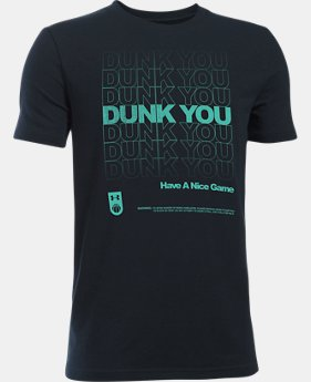 Boys' UA Dunk You T-Shirt  1 Color $14.99