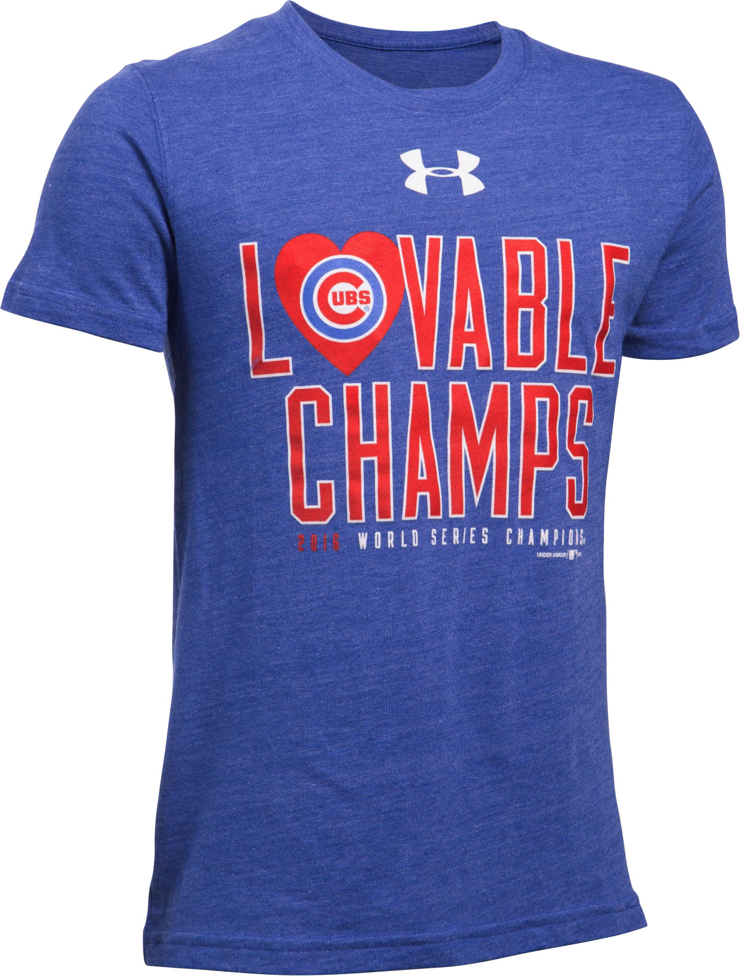 Kids' Chicago Cubs Lovable Champ T-Shirt, Royal, undefined