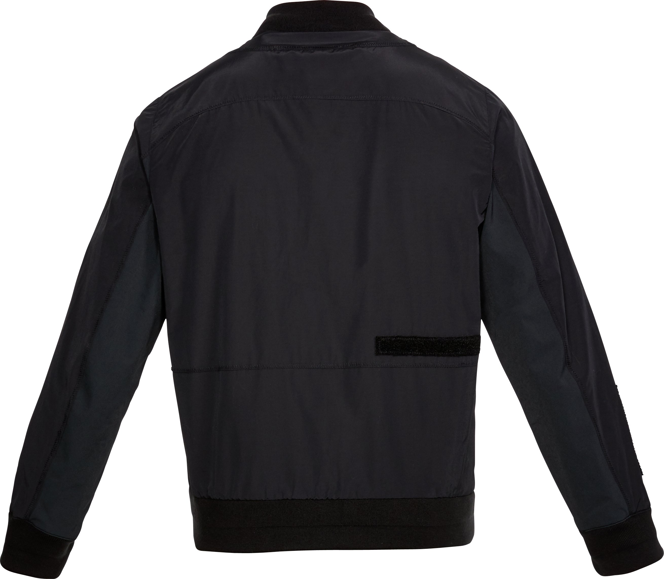 Men's UAS Nylon Bomber Jacket, Black , undefined