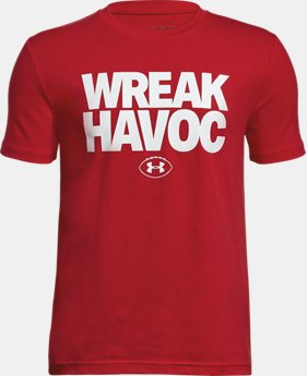Boys' UA Wreak Havoc T-Shirt LIMITED TIME: FREE U.S. SHIPPING 1  Color Available $20