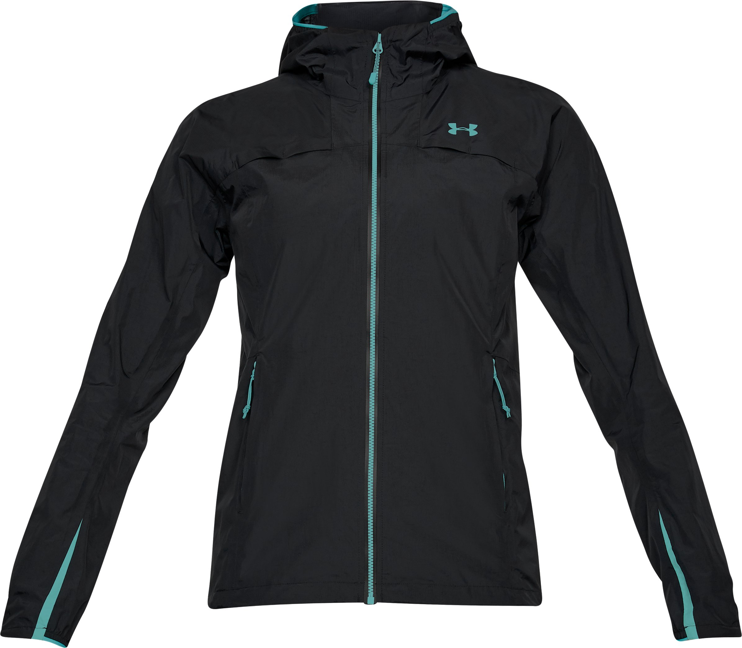Women's UA Scrambler Jacket, Black ,