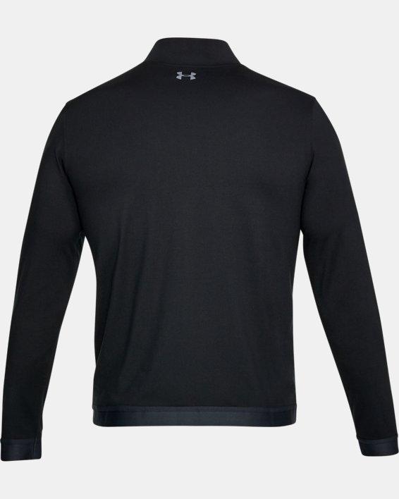 Maillot UA Playoff Full Zip pour homme, Black, pdpMainDesktop image number 4
