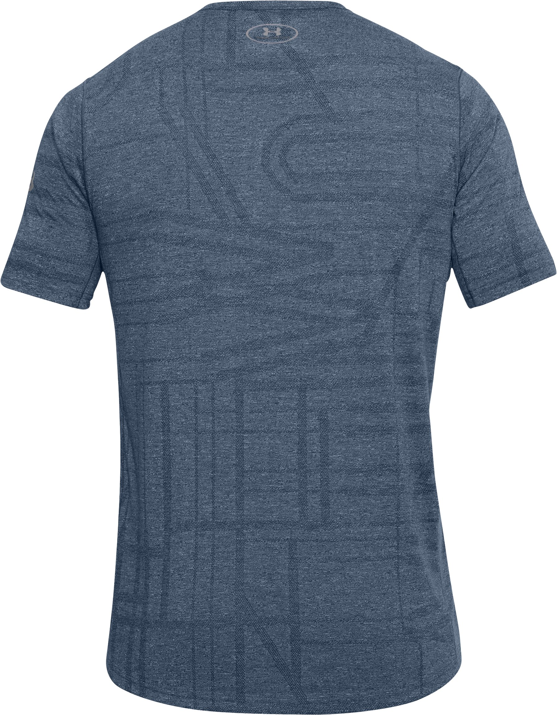 Men's UA Elite Short Sleeve, Academy,