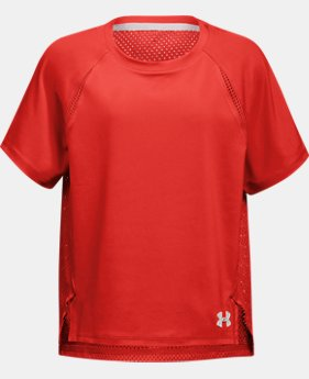 New Arrival Girls' UA Infinity T-Shirt  1 Color $30