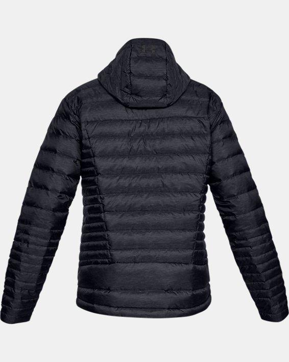 Men's UA Iso Down Hooded Jacket, Black, pdpMainDesktop image number 4