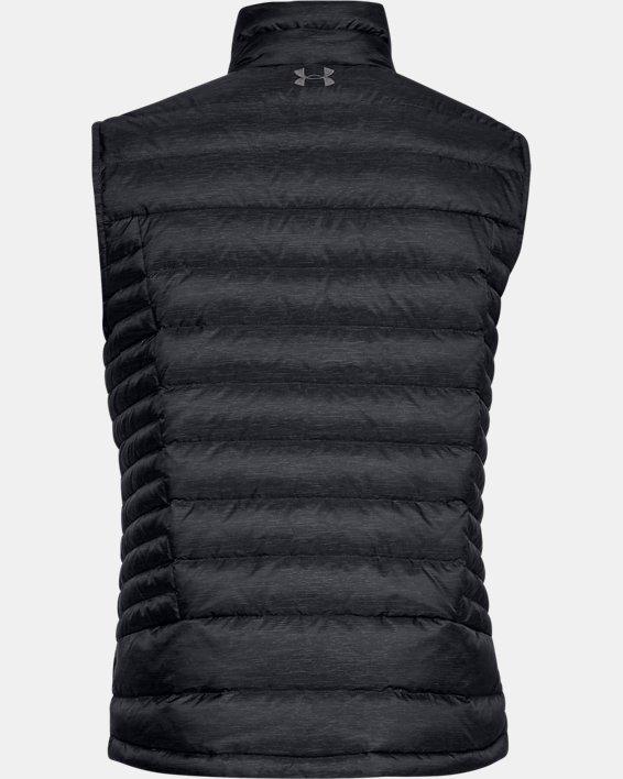 Men's UA Iso Down Vest, Black, pdpMainDesktop image number 4