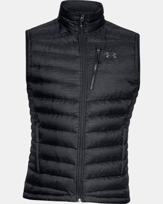 Men's UA Iso Down Vest, Black, pdpMainDesktop image number 3