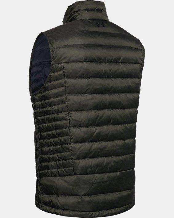 Men's UA Iso Down Vest, Green, pdpMainDesktop image number 4