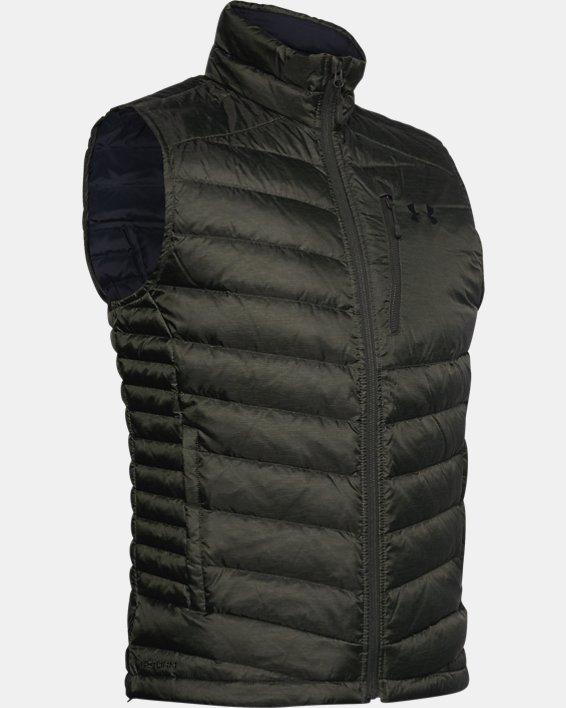 Men's UA Iso Down Vest, Green, pdpMainDesktop image number 3