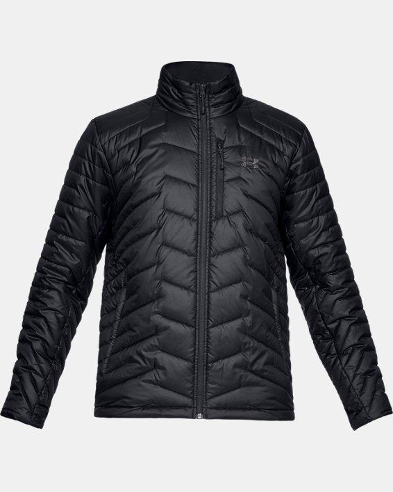 Men's ColdGear® Reactor Jacket, Black, pdpMainDesktop image number 3