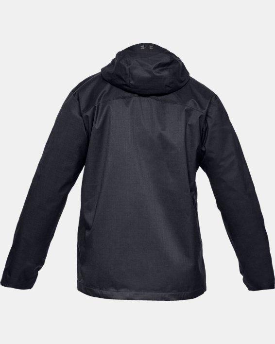 Men's UA Porter 3-in-1 Jacket, Black, pdpMainDesktop image number 4