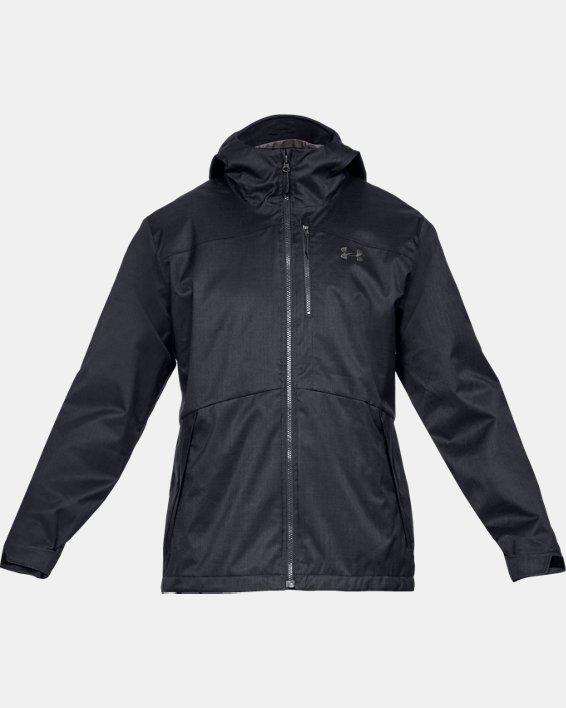 Men's UA Porter 3-in-1 Jacket, Black, pdpMainDesktop image number 3