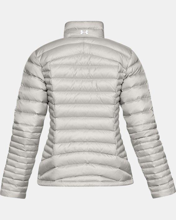 Women's UA Iso Down Jacket, Gray, pdpMainDesktop image number 4
